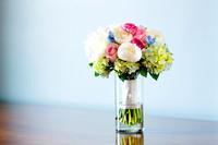 Stunning spring bridal bouquet